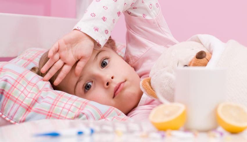 Cuidado infantil contra la influenza