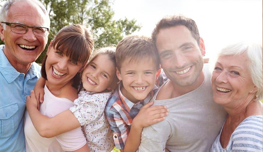 El historial médico de su familia y la genética