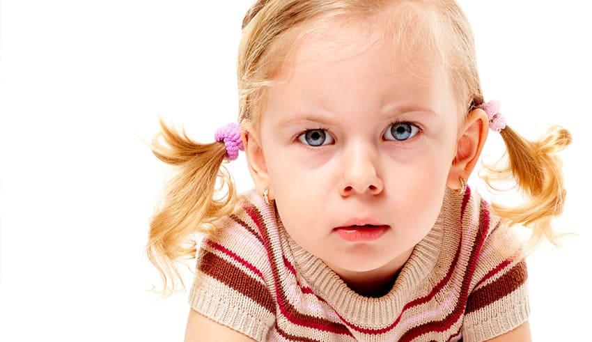 ¿Qué sucede si su hijo se enoja?