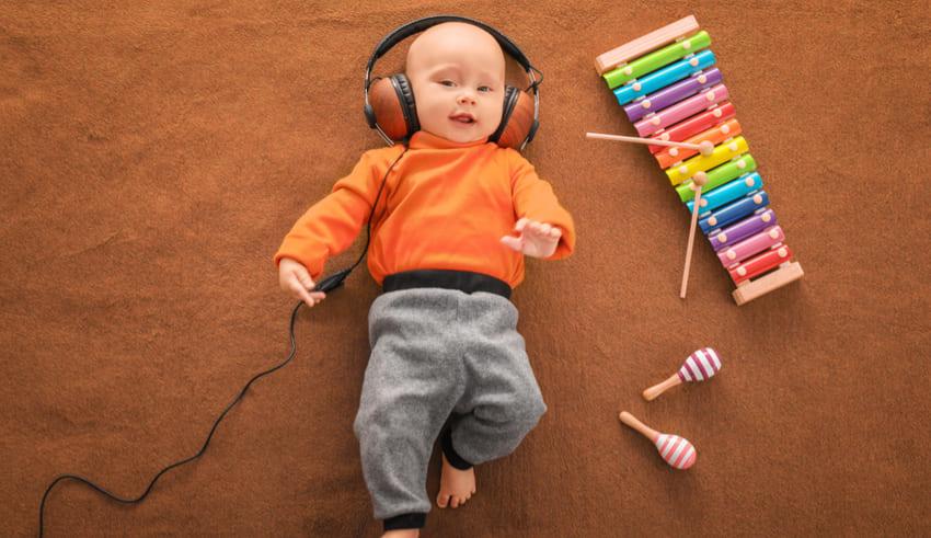 ¿Desarrollo de la inteligencia del bebé con la música?