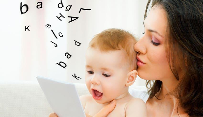 8 claves para enseñarle a hablar a tu bebé