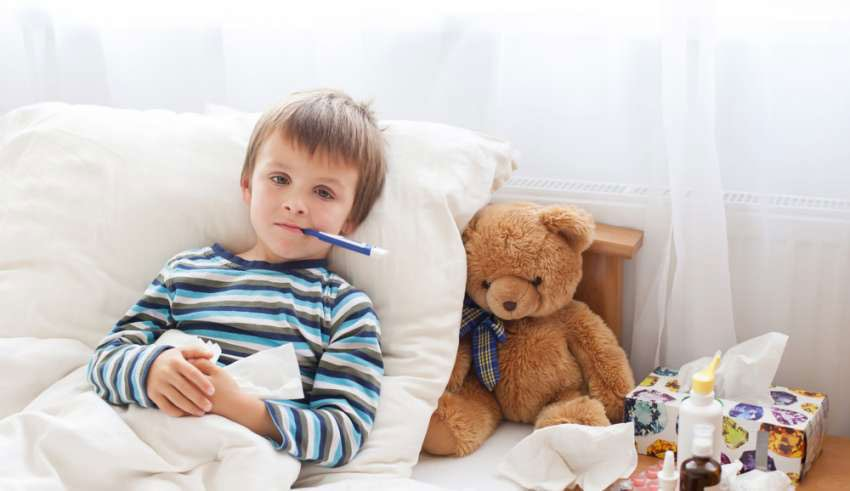 Las 10 enfermedades que más afectan a los niños