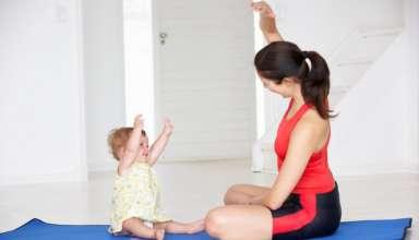 Actividades físicas después de un parto