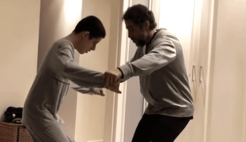 A través del baile este padre busca crear conciencia sobre el autismo
