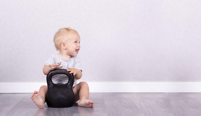 Meses 21 peso ideal para de ninos