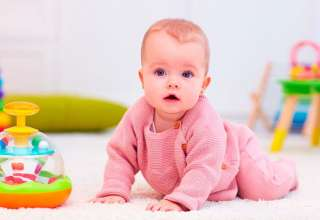 Enseña a gatear a tu bebé con estos ejercicios