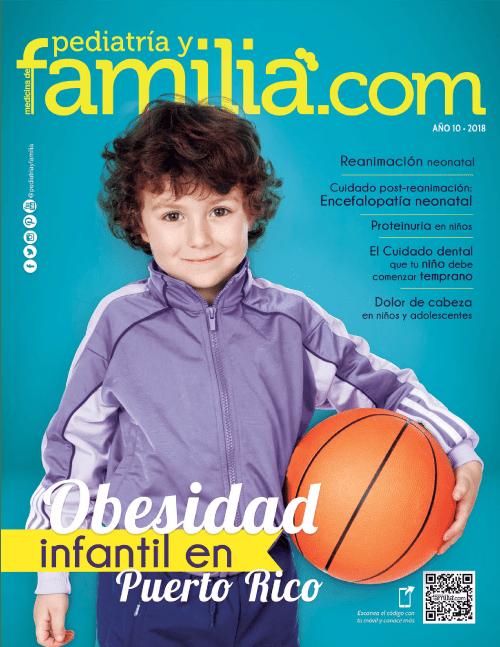 Revista Pediatría y Familia edición de septiembre de 2018