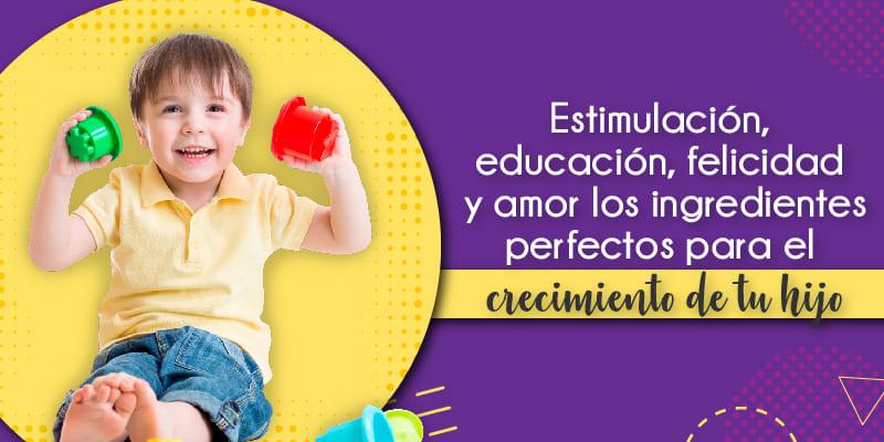 Estimulación, educación, felicidad y amor los ingredientes para el crecimiento de tu hijo, conoce todo sobre la salud infantil