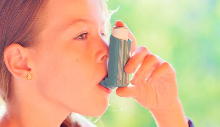 Los niños con asma son más propensos a ser obesos
