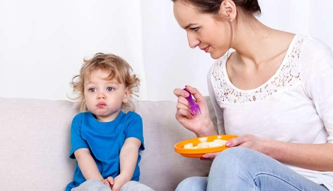Alimentación para los niños 1 a 3 años
