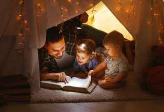 5 beneficios de leer antes de dormir con tus hijos