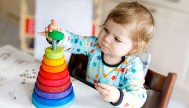 5 ejercicios para enseñar los colores a tu bebé