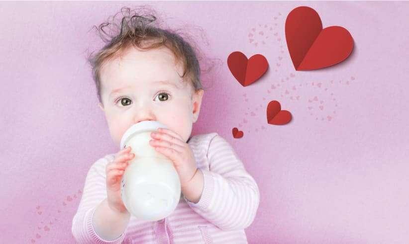 """""""Intolerancia"""" a la leche durante la infancia"""