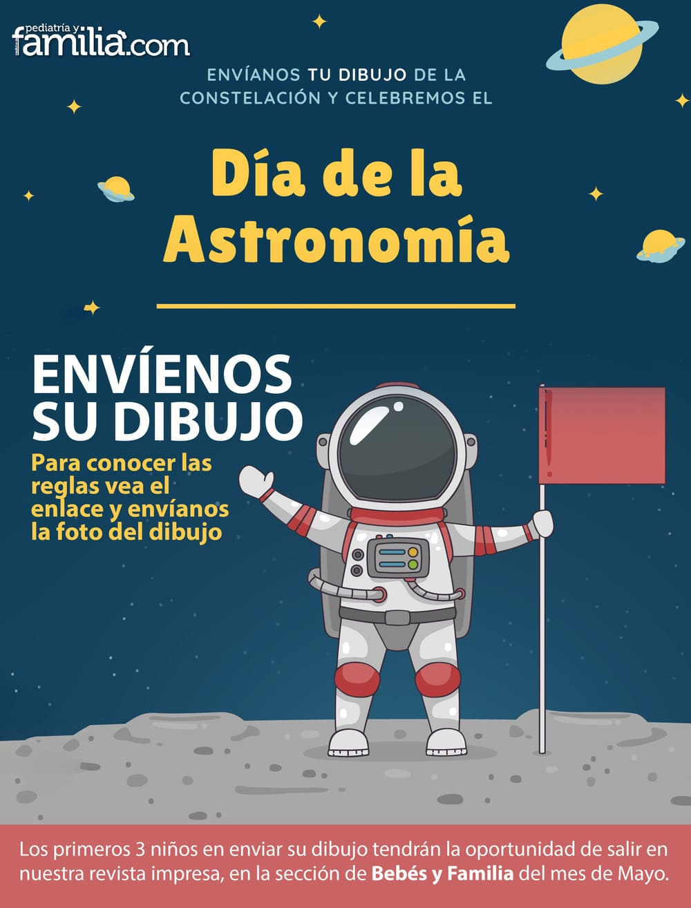 Concurso del día de la Astronomía, organizado por la revista pediatría y familia