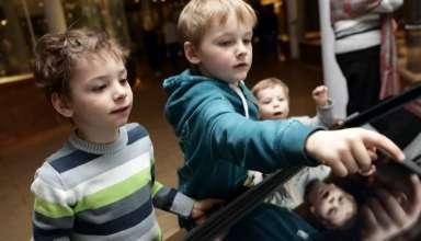 ¿Alguna vez has llevado a tu hijo a un museo?