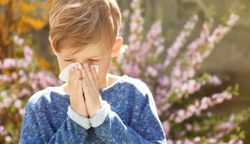 Conjuntivitis alérgica en la infancia