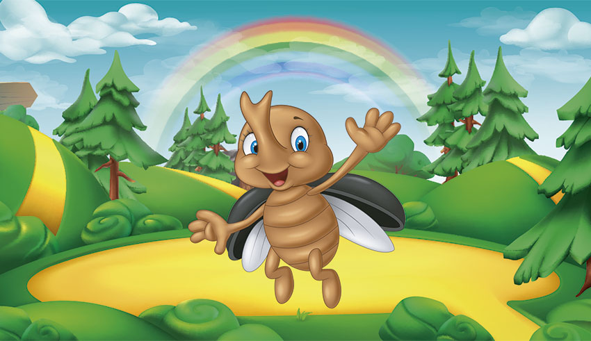 El escarabajo refunfuñón. Cuento para niños que siempre están enfadados