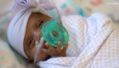 La dulce historia del bebé más pequeño del mundo contada por su madre