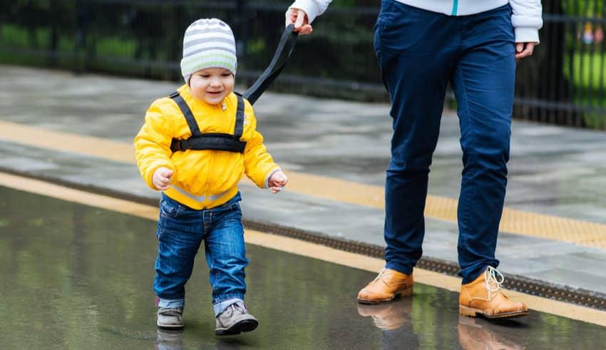 Llevar con correa a los niños: ventajas y desventajas