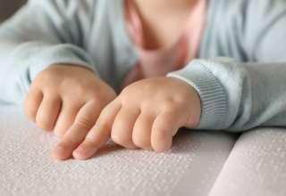 Niños y bebés ciegos