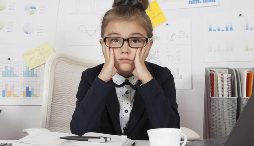Las 4 principales razones por la que los niños sufren estrés