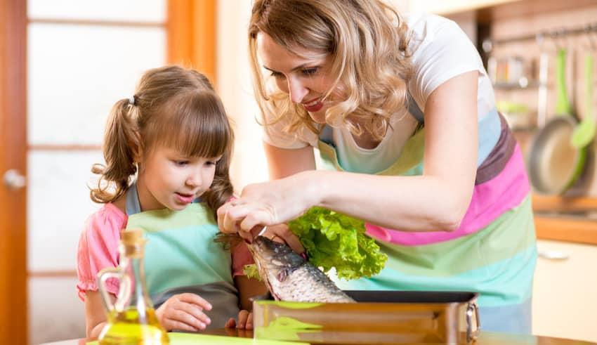 Los 12 alimentos con más omega 3 para niños y embarazadas
