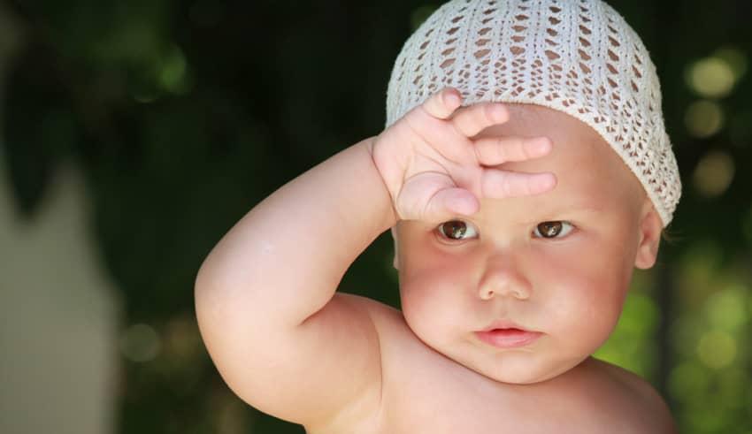 Sudamina, granitos en los bebés por el calor