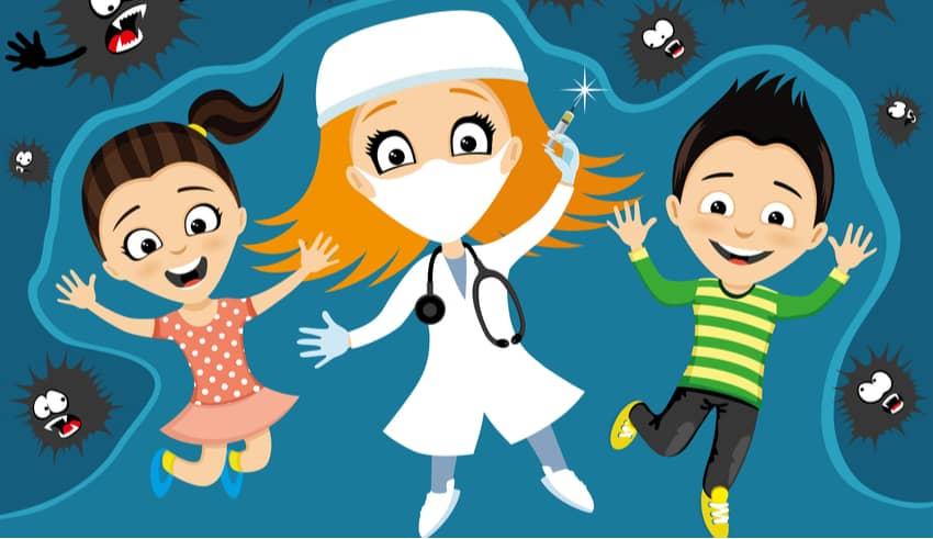 Las vacunas. Cuento para explicar a los niños por qué hay que vacunarse