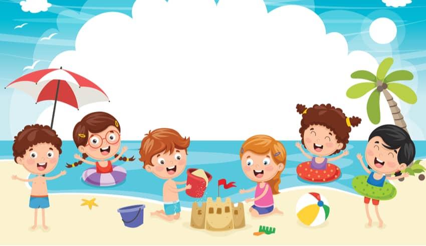 Magia en verano. Cuento infantil para las vacaciones de los niños