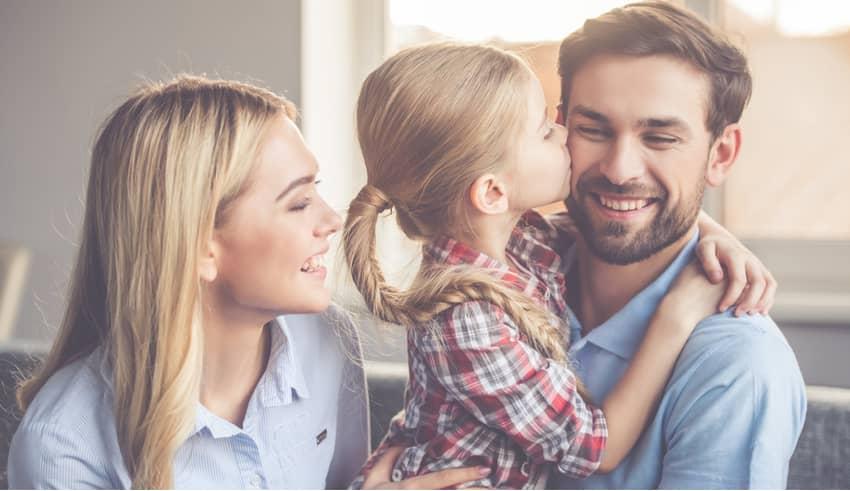 Cuando los niños prefieren o quieren más a papá que a mamá, o al revés