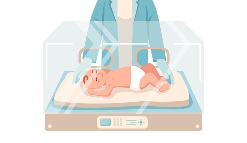 Mal manejo de oxigenoterapia podría causar ceguera en bebés prematuros
