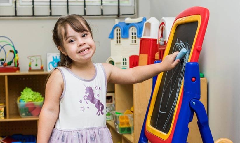 El Centro, que forma parte la Fundación Puertorriqueña Síndrome Down, se destaca por su currículo arraigado en la inclusión y en el aprendizaje participativo.